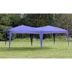 Palm Springs 10 x 20 EZ POP UP BLUE Canopy Gazebo NO Sidewal