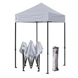 Eurmax 5x5 Ez Pop up Canopy Outdoor Instant Tent with Deluxe