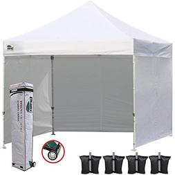 Eurmax 10x10 Ez Pop up Commercial Outdoor Canopy Instant Ten