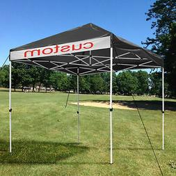 10x10ft Pop Up Canopy Patio Tent Outdoor Tent Waterproof 420