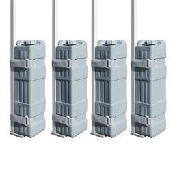 4Pcs Bottle Weight Leg Feet Outdoor Pop Up Canopy Gazebo Ins
