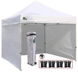 Eurmax 10'x10' Ez Pop-up Canopy Tent Commercial Instant Tent
