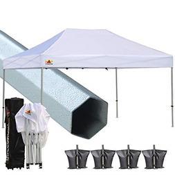 ABCCANOPY PRO-40 10 X 15 Ez Pop up Canopy Tent Commercial In