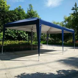 Ez Pop Up Gazebo Wedding Party Tent Folding Coffee Canopy w/
