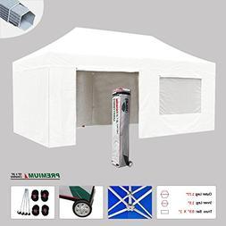 Eurmax New 10x20 Premium Ez Pop up Instant Canopy Tent Outdo