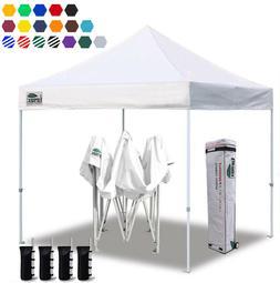Ez Pop Up Canopy 10x10 Commercial Fair Folding Instant Gazeb