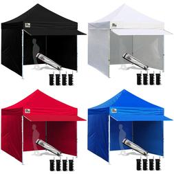10x10 Pop Up Canopy Outdoor Instant Party Tent Commercial Ga