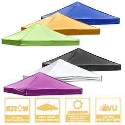 9.5x9.5ft Pop Up Canopy Top Replacement Patio Outdoor Sunsha