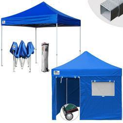 Outdoor Instant Canopy Tent 10x10 Folding Ez Pop Up Gazebo P