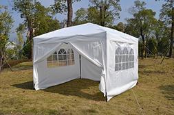 MCombo EZ Pop Up Wedding Party Tent Folding Gazebo Camping C