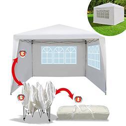 BenefitUSA EZ POP UP Wedding Party Tent 10'x10' Folding Gaze