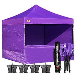 ABCCANOPY 10-feet by 10-feet Festival Steel Instant Canopy,