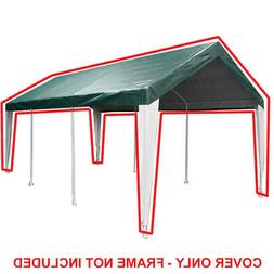 King Canopy 10' x 20' Fitted Cover w/ Legs Skirts 10' x 20'
