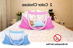Foldable Infant Baby Mosquito Net Tent Mattress Cradle Bed C