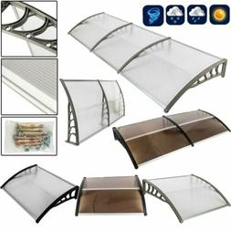 "Front Door Window Awning Cover 40""x 80"" / 120"" Patio Outdoor"