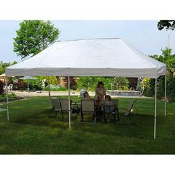 King Canopy FSSHST20WH 10-Feet by 20-Feet Festival Steel Ins