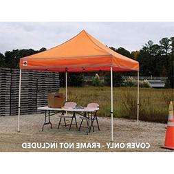 King Canopy FST10HV Festival Instant Shelter Replacement Top