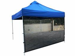 Full Sun Shade Side-Wall Screen Panel for 10' Instant Pop Up