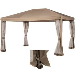 fully enclosed garden gazebo canopy