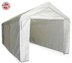 Garage Canopy Side Wall Kit Big 10 x 20 Tent Portable White