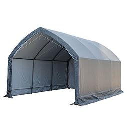 Abba Patio Garage and Shelter 13 x 20 x 11 ft Outdoor Storag