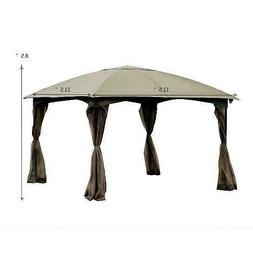 Garden Gazebo Pavilion Waterproof Top Roof Canopy Party Tent