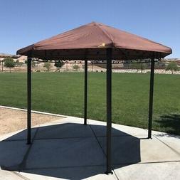 Palm Springs Garden Outdoor Patio 11.5ft Circular Canopy Gaz