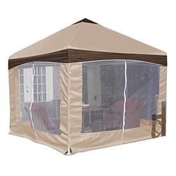 King Canopy 10' X 10' Garden Party Backyard Gazebo- Carmel C