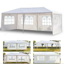 Gazebo Outdoor 10'x20' EZ POP UP  Tent Canopy Folding w/ Car