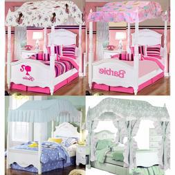 Girls Bedroom Canopy - Barbie Ballerina Pricillas Sweet Drea