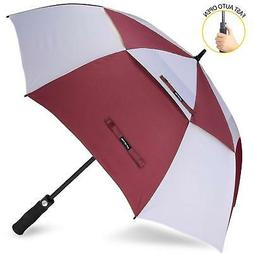 ZOMAKE Golf Umbrella Windproof Large 68 inch Double Canopy A