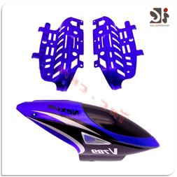 Head Cover/Canopy/Body Frame for VIEFLY V789 RC Helicopter S
