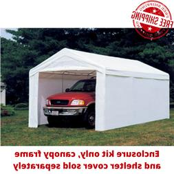Heavy Duty 10'x20' Outdoor Canopy Shelter Popup Shed Garage