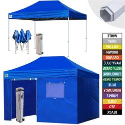 10X15 EZ Pop Up Canopy Outdoor Commercial Party Tent Fair Sh
