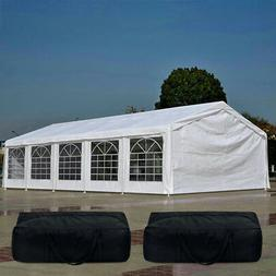 Quictent 32'x16' Heavy Duty Canopy Party Tent Gazebo  Carpor