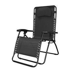 Infinity Oversized Zero Gravity Chair, Black, Zero Gravity C