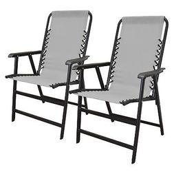 Caravan Canopy Infinity Suspension Steel Frame Folding Chair