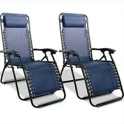 Infinity Zero Gravity Chair , Blue