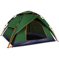 Qwest Instant 2-3 person Pop Up Camping Tent, Portable Auto