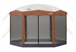 Coleman Instant Screened Canopy 12'X10' Tan/Brown
