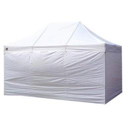 King Canopy 10 x 15 ft. 4 pk. Instant Canopy Side Walls, Whi