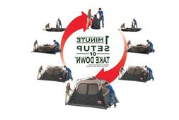 Coleman Instant Tent Cabin Camping Canopy Tent 6 Person Shel