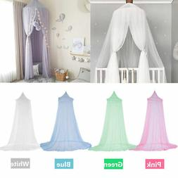 Kids Baby Bed Canopy Bed Lace Mosquito Net Curtain Bedding D