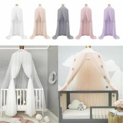 Kids Baby Bed Canopy Netting Bedcover Mosquito Net Curtain B
