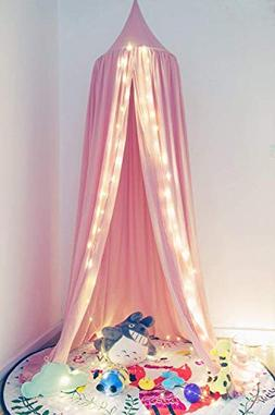 Wilhunter Kids Bed Canopy Princess Castle Mosquito Netting G