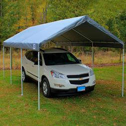 King Replacement Canopy SILVER 10 x 20 Carport Cover Frame N