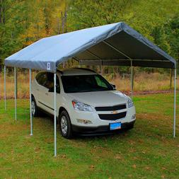 New King Replacement Canopy Cover Top - Silver - 10' x 20' *