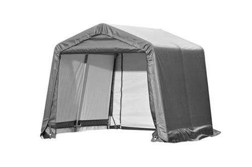ShelterLogic 70333 10×10×8 Style Shed, 38 inch Frame, Cover