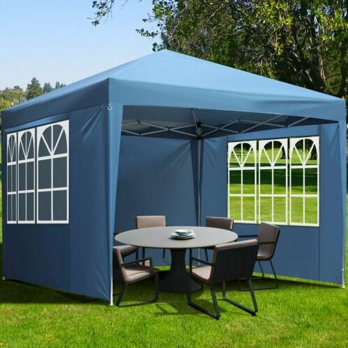 10' 10' Gazebo Canopy Party Tent Waterproof