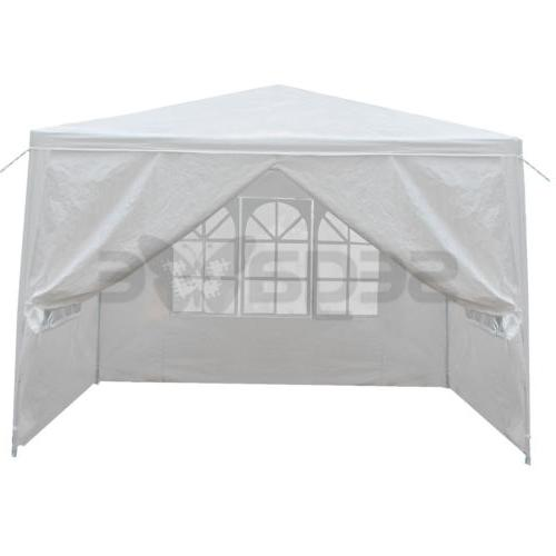 10' x Canopy Party Tent Gazebo w/4 Walls White